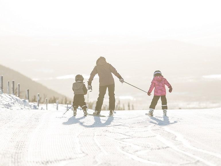 Fira jul på skidor