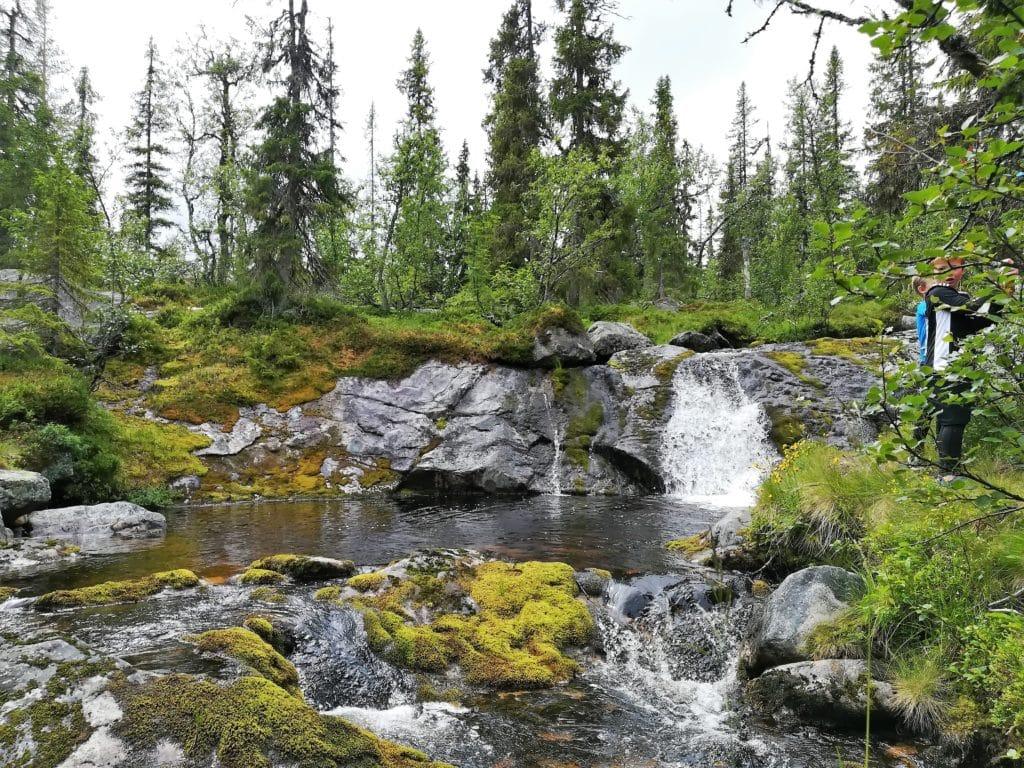 Litet vattenfall i Vemdalen