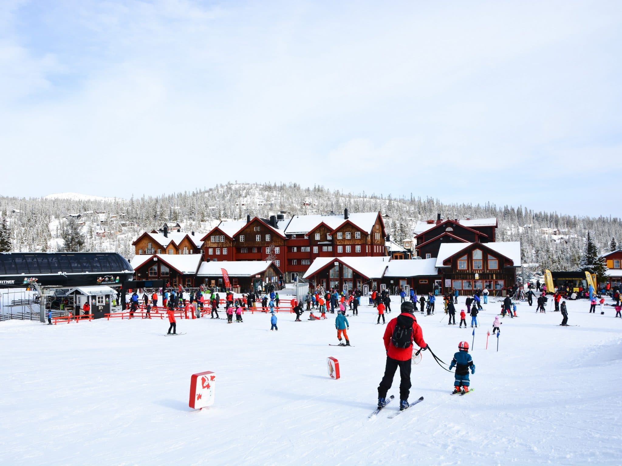 Skier on the Vemdalsskalet